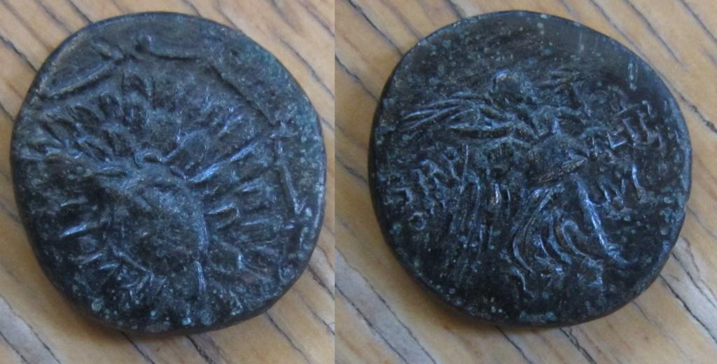 Bronce de Ponto, Amisos (85-65 a.C.) Bronce31