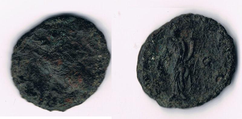 Antoniniano de Claudio II El Gótico. FELICIT TEMP. Feliciditas estante a izq. Ceca Cyzicus. Romana12