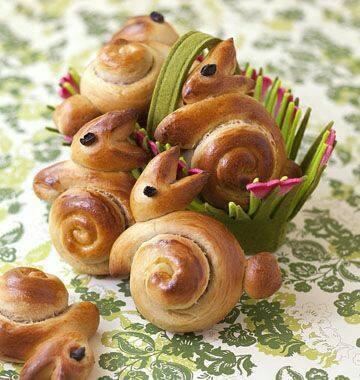 Рецепты Остары. Сдобные кролики 17264810