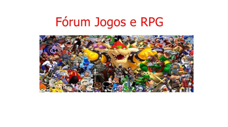 Fórum Jogos e RPG