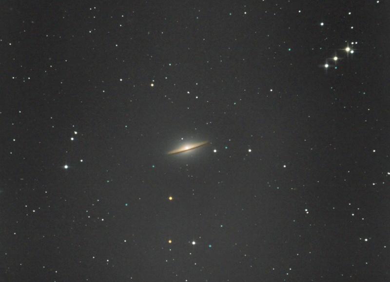 Galáxia do Sombreiro - M104 09-03-11