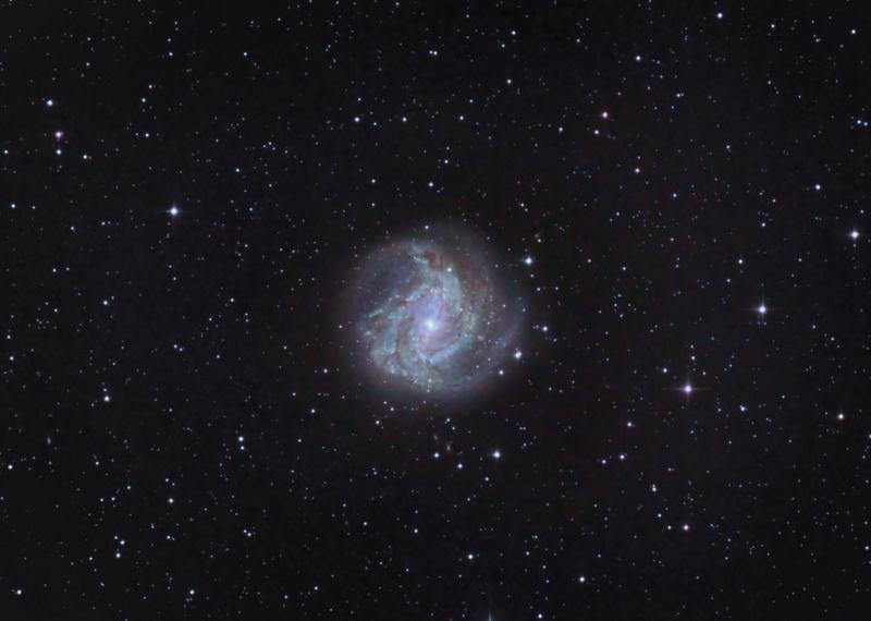 M83 - Galáxia Catavento do Sul 20-03-12