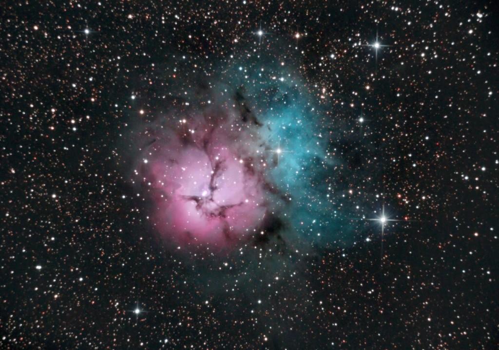 Nebulosa Trífida - M20 24-03-10