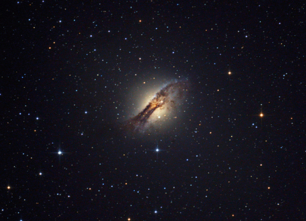 "Galáxia Centaurus ""A"". Finald12"