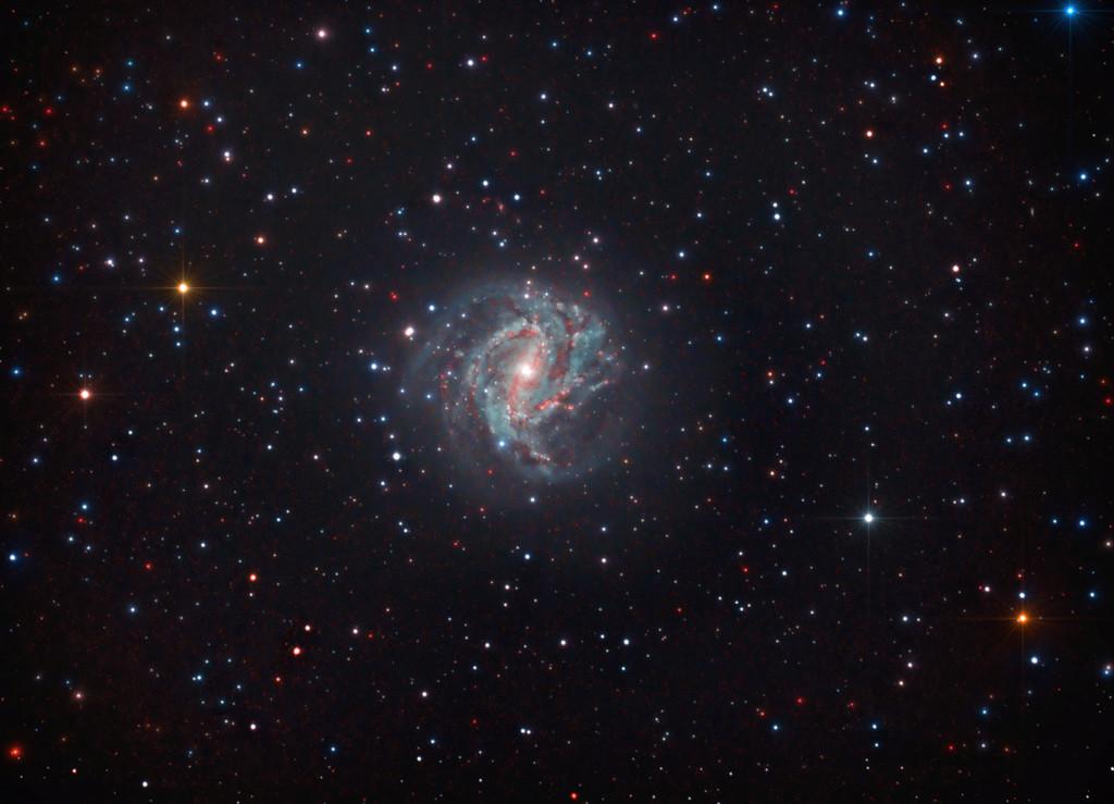 M83 - Galáxia Catavento do Sul Finald15