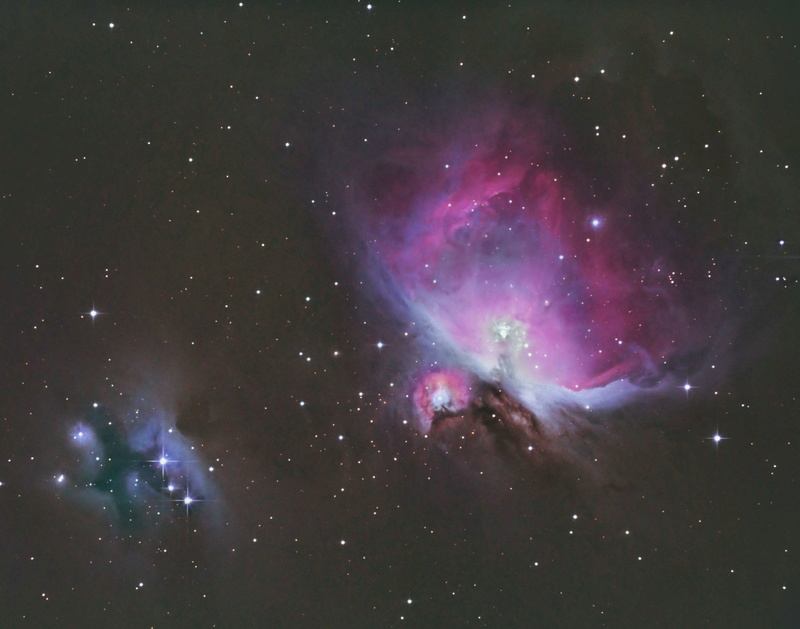Nebulosas de Orion e Homem Correndo. Orion-12