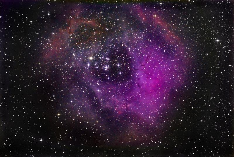 Nebulosa Roseta Semaju10