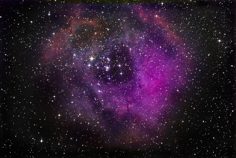 Nebulosa Roseta. Semaju12