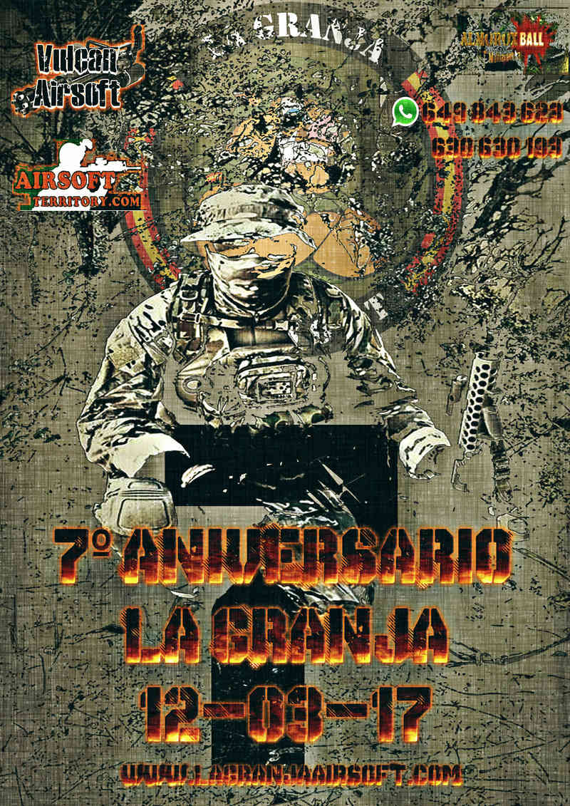 7º ANIVERSARIO DE LA GRANJA. 12-03-17 Cartel10
