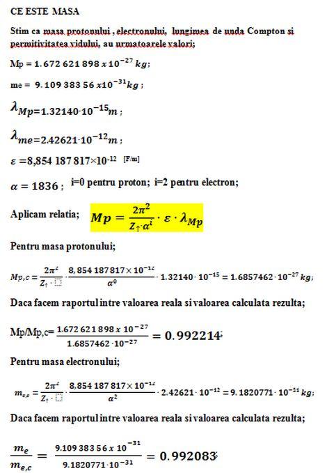 Despre semnificatia masei particulelor. Masa_p11