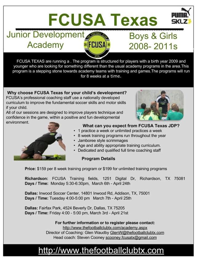FCUSA Junior Development Program Richardson & Dallas Fcusa_16