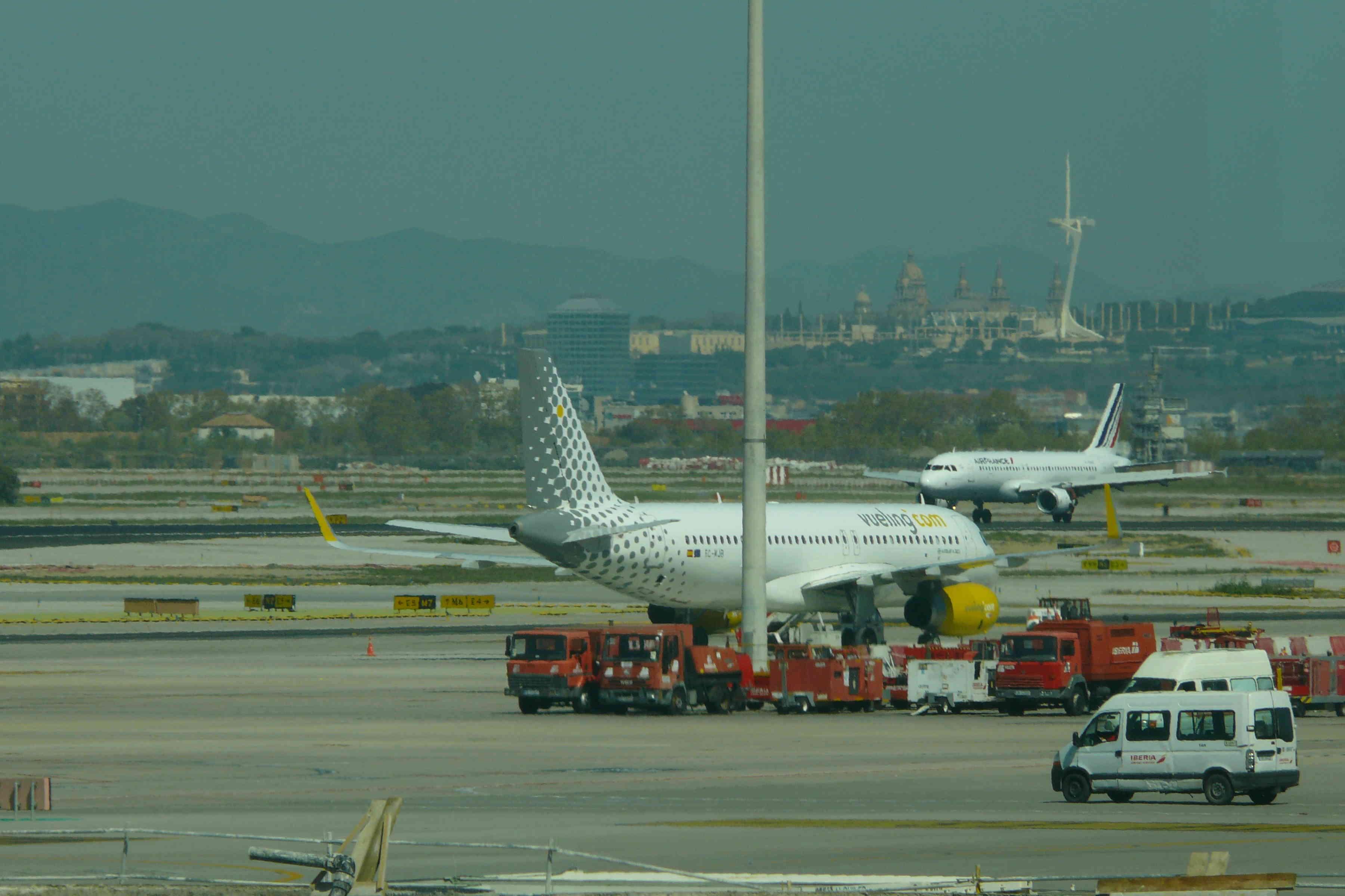 El Prat - Aeropuerto de Barcelona P1170316