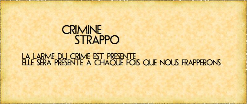 Crimine Strappo - RPG Mafieux HB