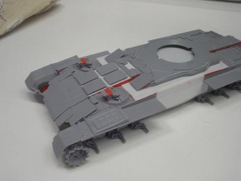 """Танк Т-145 типа """"Молот"""", масштаб 1\35, конверсия-самоделка P1011121"""