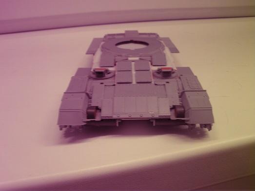 """Танк Т-145 типа """"Молот"""", масштаб 1\35, конверсия-самоделка P1011122"""