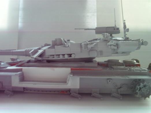 """Танк Т-145 типа """"Молот"""", масштаб 1\35, конверсия-самоделка P1011210"""