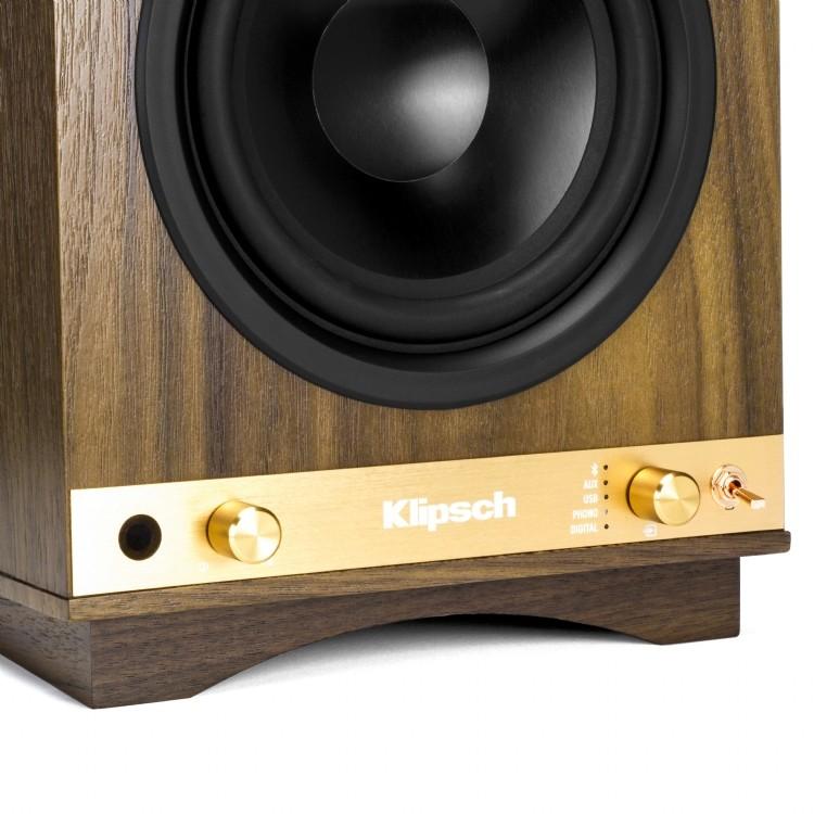 Klipsch Sixes: autoamplificadas, con entradas digitales, analógicas, bluetooth, previo phono, salida sub Galeri10