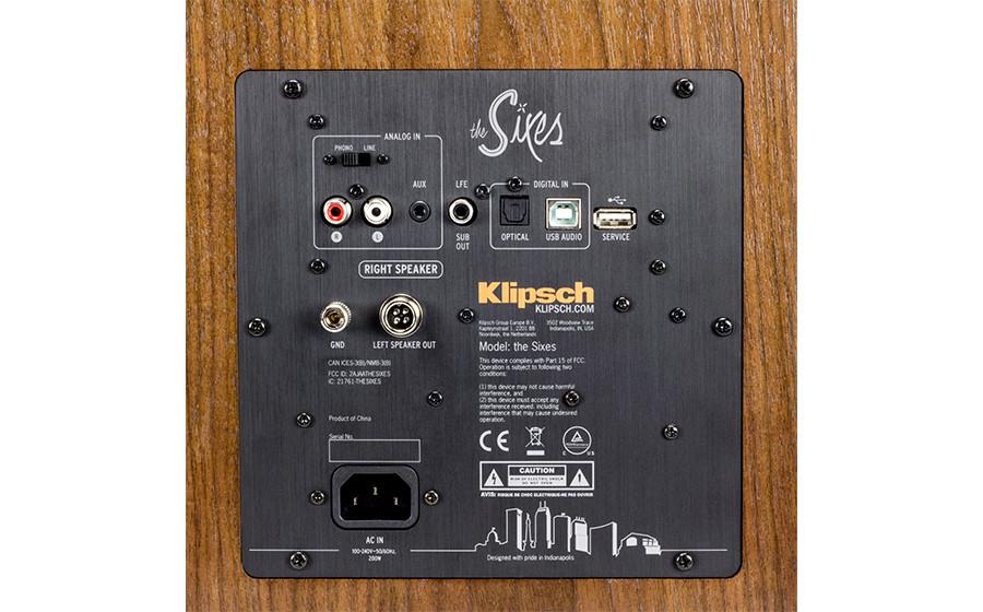 Klipsch Sixes: autoamplificadas, con entradas digitales, analógicas, bluetooth, previo phono, salida sub Galeri11