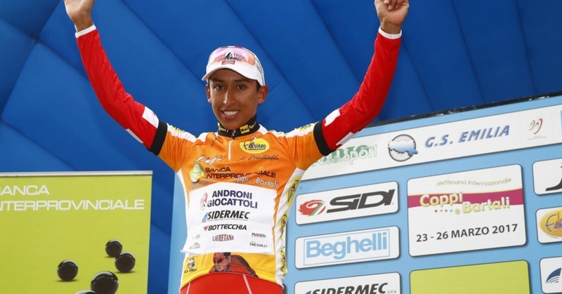 Campeones de Jovenes UCI 2017 Egan210