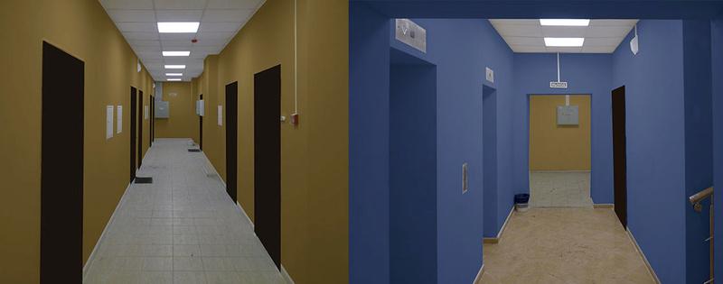 Дизайн коридоров Ieaezz11
