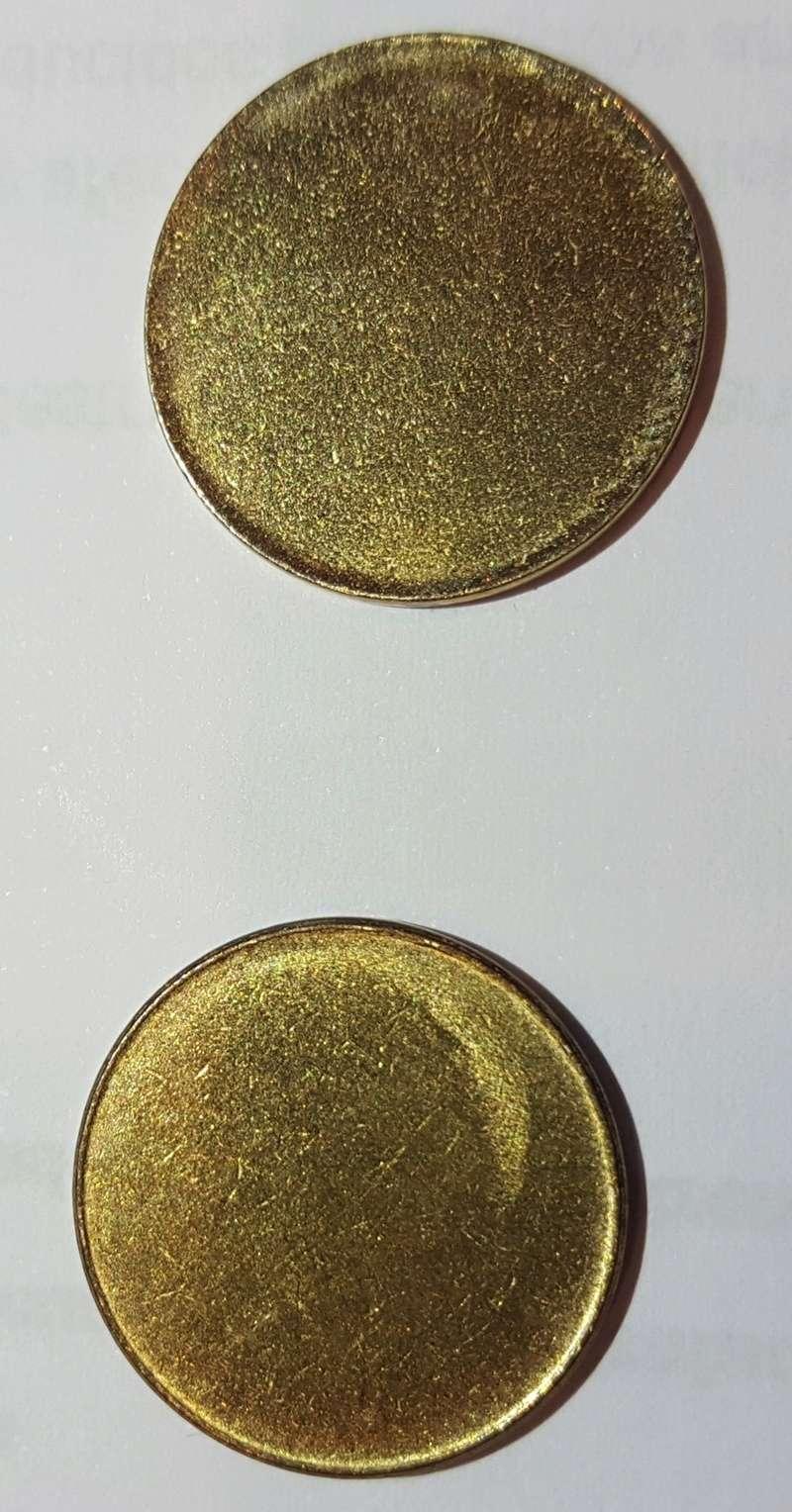 Moneda de una peseta sin acuñar Cospel12