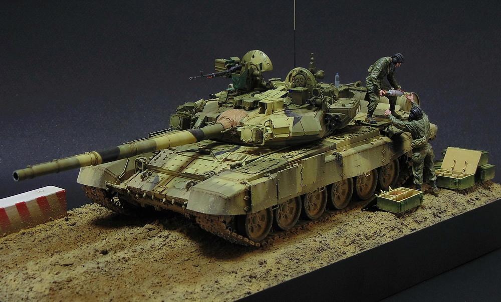Загрузка Т - 90А  00115