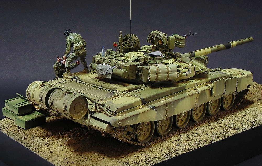 Загрузка Т - 90А  00314