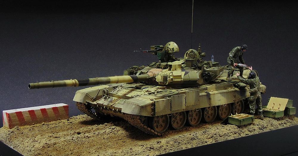 Загрузка Т - 90А  00514