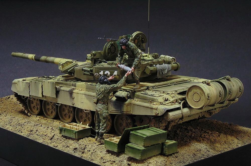 Загрузка Т - 90А  00612