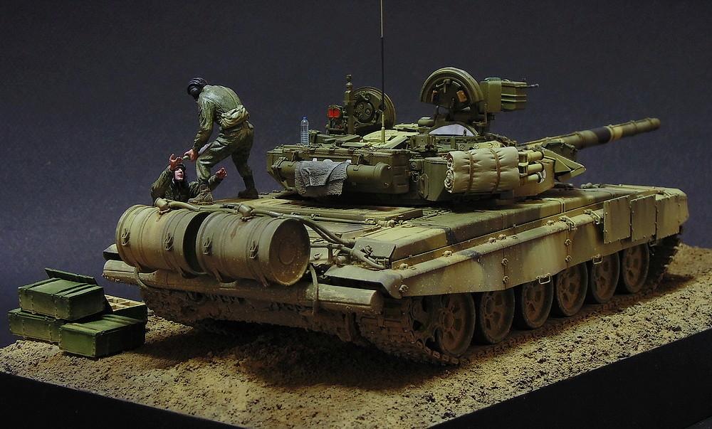 Загрузка Т - 90А  00711