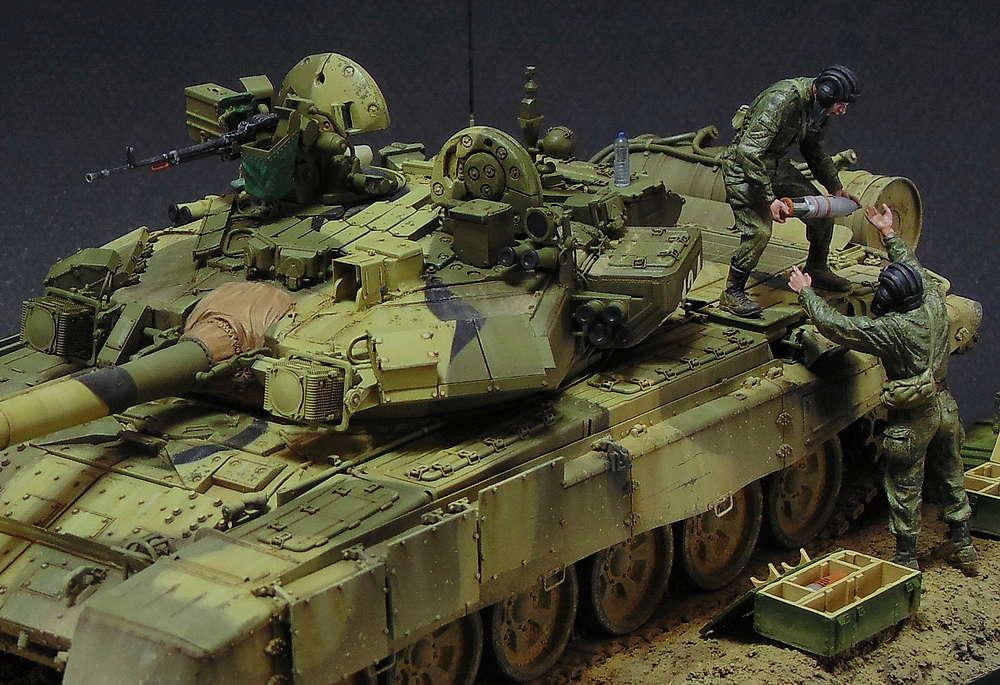 Загрузка Т - 90А  01010