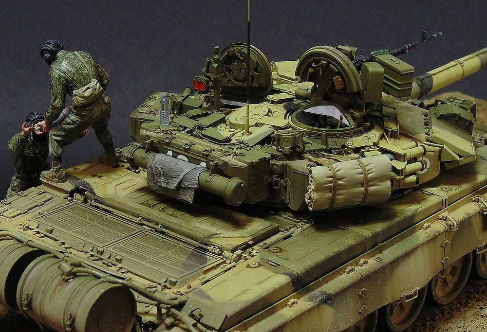 Загрузка Т - 90А  01110