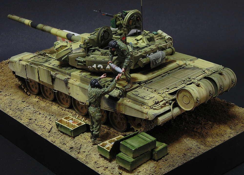 Загрузка Т - 90А  01510