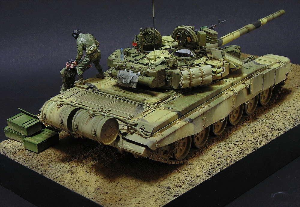 Загрузка Т - 90А  01610