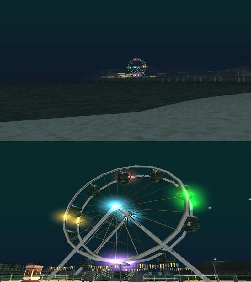 Ferris Wheel Lights Cats13