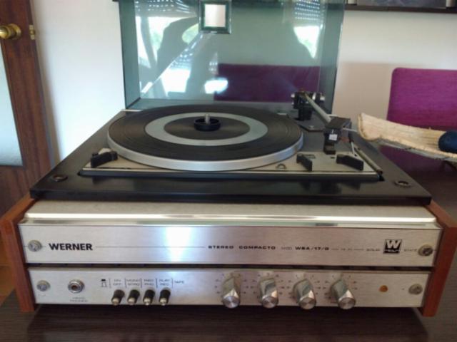 ¿Qué es de la marca de tocadiscos y televisores Werner? 10284310