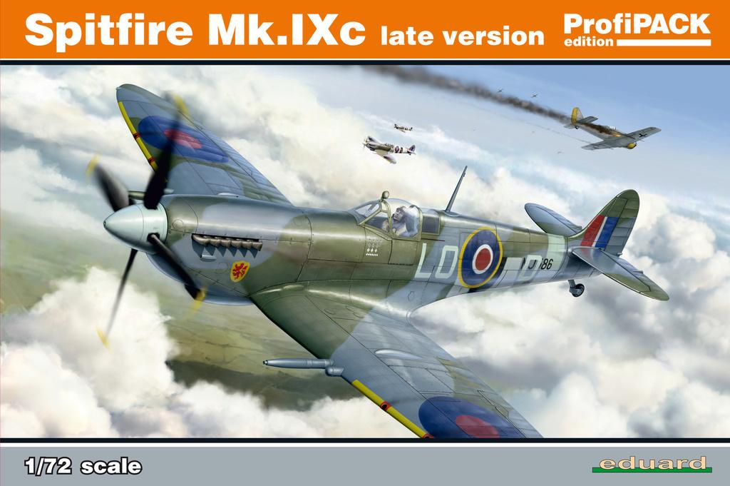 Spitfire Mk.IXc 1/72 Eduard 7012110
