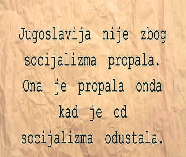 KRITIKA  SOCIJALIZMA Juga19