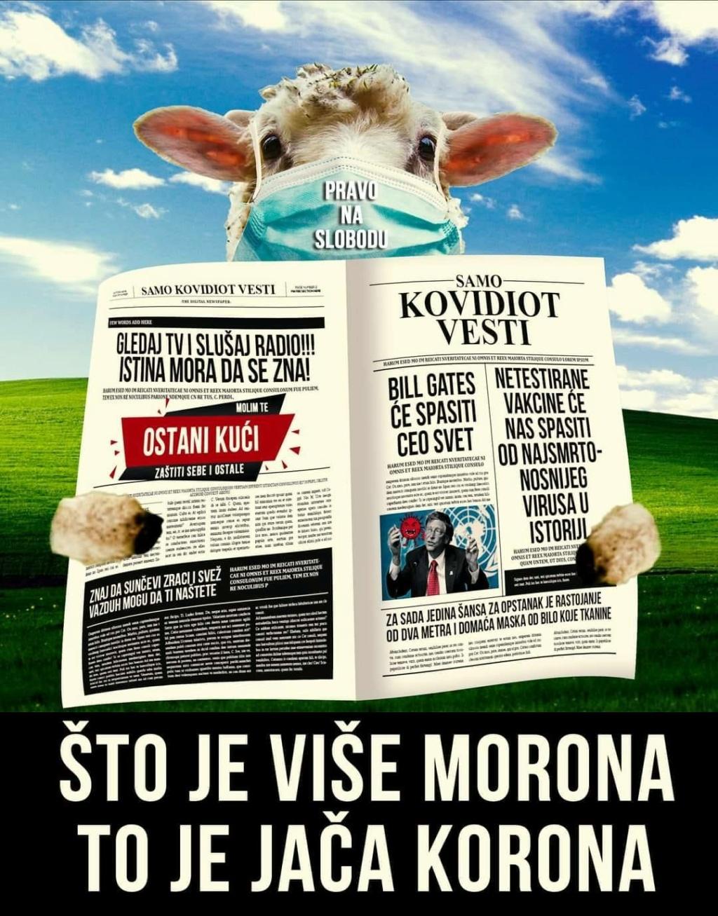 """MEDIJSKE MANIPULACIJE-KORONA KOVID """"VIRUS""""! - Page 6 Ovce24"""