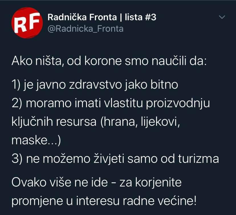 RADNIČKA FRONTA(RF) Rf11