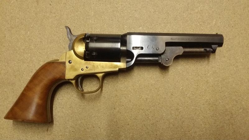 choisir un revolver à poudre noire pour un débutant par Vieux Machin 20170611