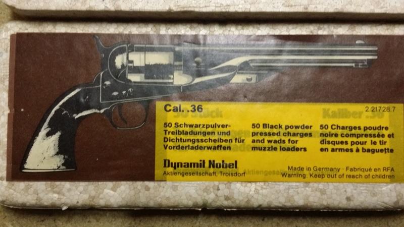 choisir un revolver à poudre noire pour un débutant par Vieux Machin 20170615