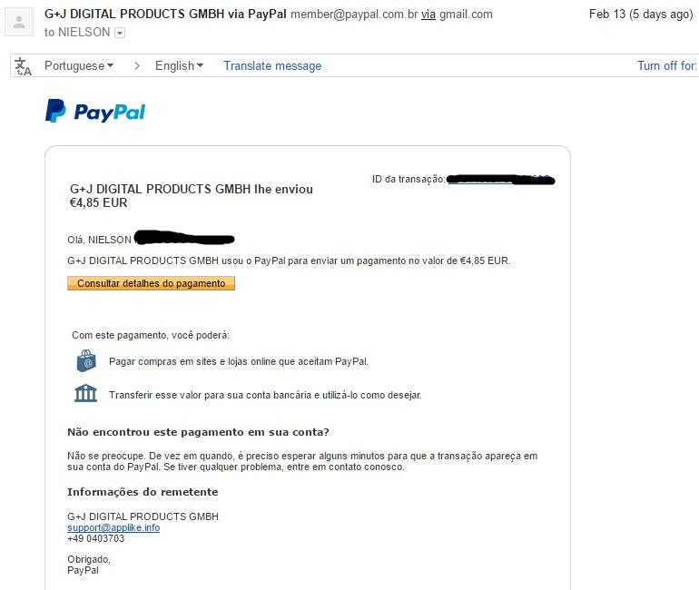 [Provado] AppLike - Ganhar dinheiro no PayPal (Android) Primei11