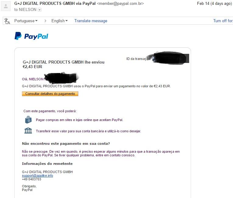 [Provado] AppLike - Ganhar dinheiro no PayPal (Android) Segund10