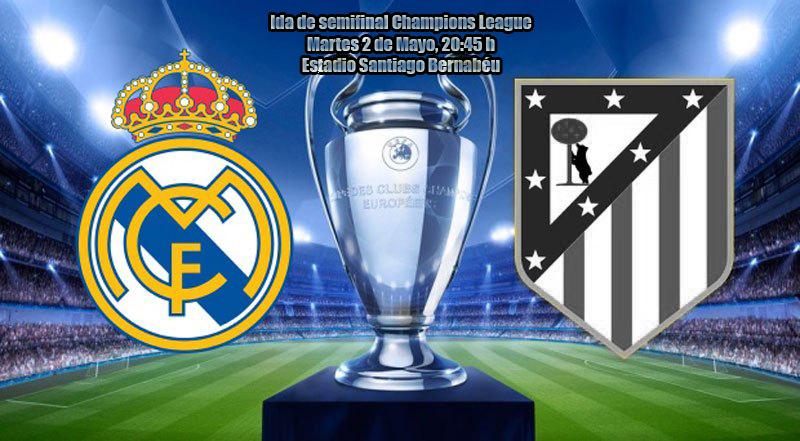 Ida semis Champions: Real Madrid - Atlético de Madrid Hala_m11