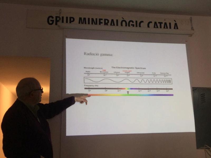 minerals - Espectrometria de radiació gamma aplicada a minerals i materials radioactius 511