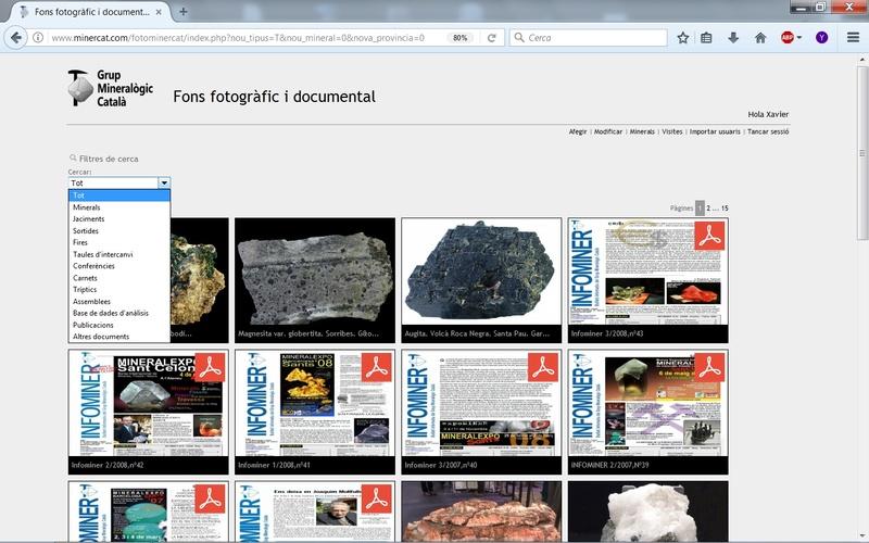 Fons Fotogràfic i Documental del Grup Mineralògic Català Fondo011