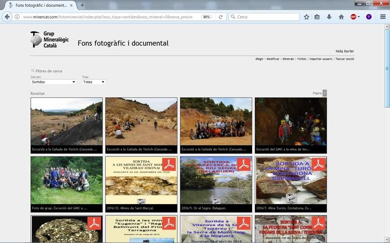 Fons Fotogràfic i Documental del Grup Mineralògic Català Fondo016