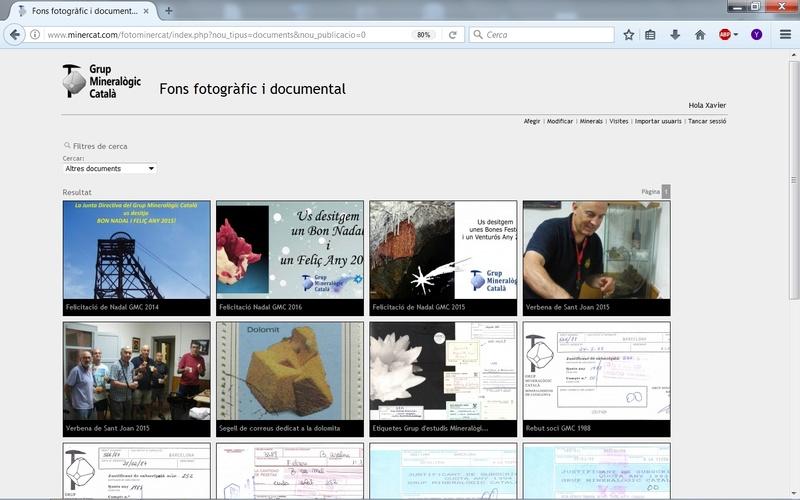 Fons Fotogràfic i Documental del Grup Mineralògic Català Fondo111