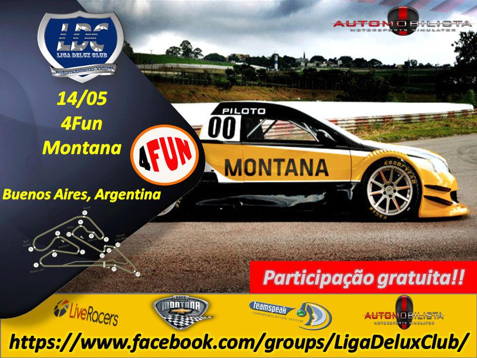Liga Delux Club - 4Fun PRÉ-TEMPORADA #Turismo Delux (Montana), Buenos Aires 4fun14